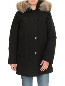 Woolrich - Arctic parka hooded down jacket in black
