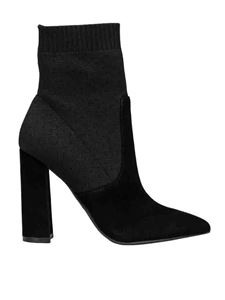 Kendall + Kylie - Satchel booties in black