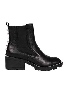 Kendall + Kylie - Port ankle boots in black leather