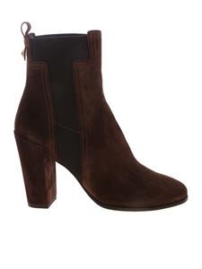 Tod's - DoubleT logo ankle boot in brown