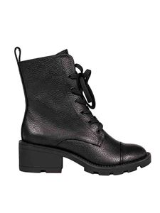 Kendall + Kylie - Park ankle boots in black leather