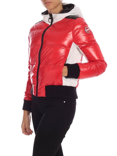Colmar - Origin down jacket in red and white