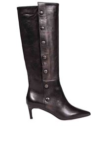 L'Autre Chose - Black vintage leather boots