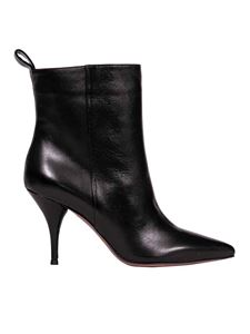 L'Autre Chose - Pointed boots in black