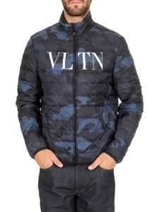 Valentino - Reversible VLTN jacket in camouflage