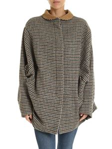 Vivienne Westwood Anglomania - Houndstooth oversize jacket in beige