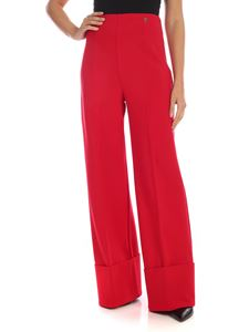 MY TWIN Twinset - Palazzo trousers in poppy red