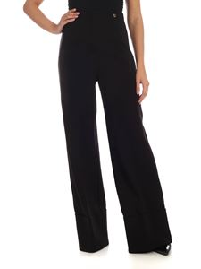 MY TWIN Twinset - Palazzo trousers in black
