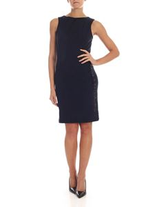 Karl Lagerfeld - Knee-length dress in dark blue