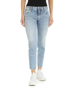 Dsquared2 - Twiggy jeans in faded light blue