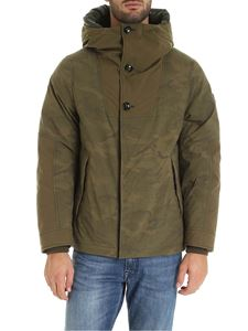 Woolrich - Military Anorak down jacket in Army green color