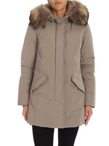 Woolrich - Arctic Luxury Parka in taupe color