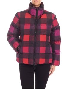 Woolrich - Towanda down jacket in shades of pink