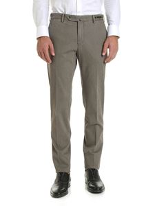 PT01 - Side slash pockets trousers in grey