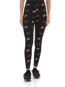 Nike - Nike prints leggings in black