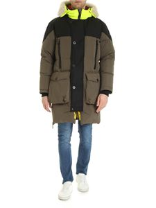 Griffin Studio - Sleeping down jacket Army green color