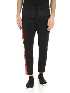 Diesel - CocaCola bands trousers in black