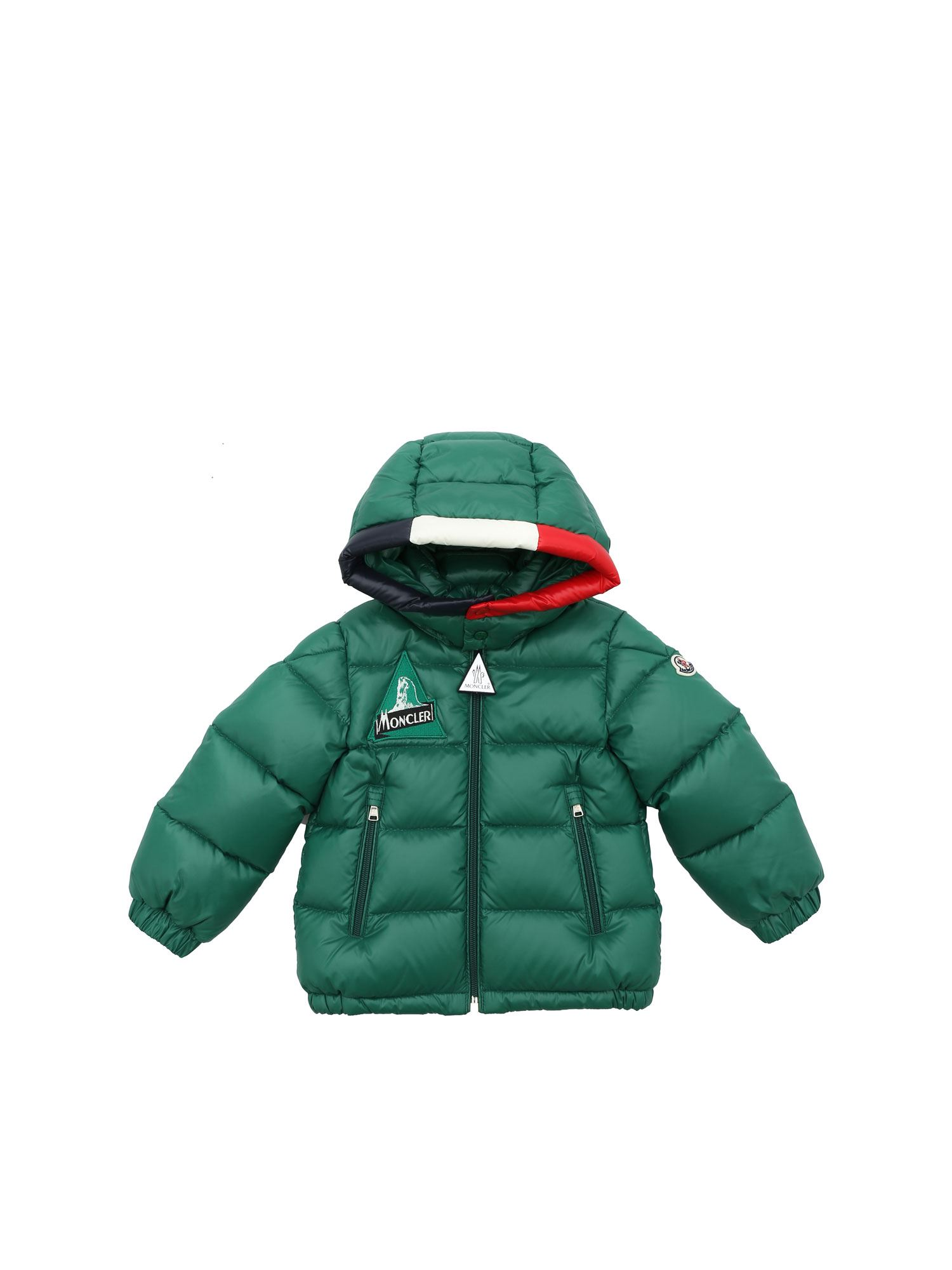 Moncler Jr Downs REMOULIS DOWN JACKET IN GREEN