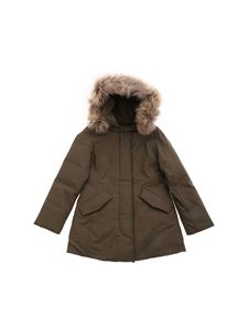 Woolrich - Arctic Parka down jacket in Army green color