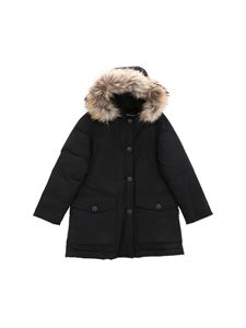 Woolrich - Parka Df down jacket in black