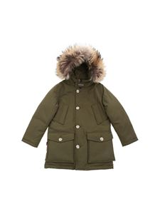 Woolrich - Arctic Parka Hc down jacket in green