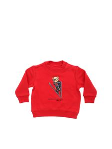 POLO Ralph Lauren - Polo Bear sweatshirt in red