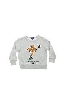 POLO Ralph Lauren - Kicker Bear sweatshirt in grey