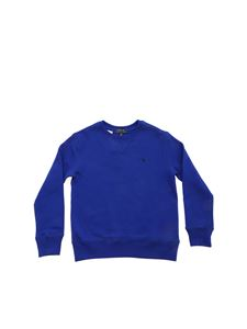 POLO Ralph Lauren - Blue logo sweatshirt in electric blue