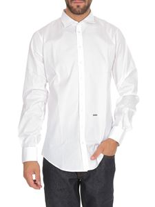 Dsquared2 - Carpenter No Pince Poplin shirt in white