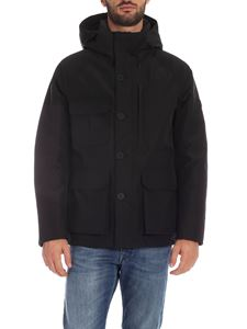 Woolrich - Storm Mountain down jacket in black
