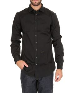 Dsquared2 - Carpenter No Pince Poplin shirt in black