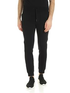 Woolrich - Bonded trousers in black