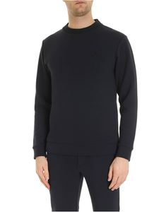 Woolrich - Bonded sweatshirt in blue