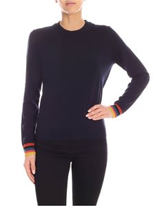 Paul Smith - Artist Stripe pullover in blue