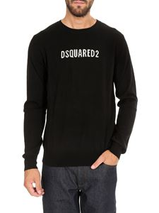 Dsquared2 - Wool knit sweater in black