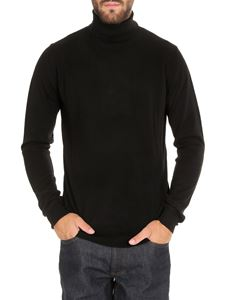 Dsquared2 - Logo intarsia turtleneck in black