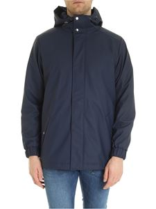 Rains - Quilted parka in blue