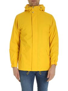 Rains - Quilted parka in yellow