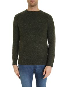 Brooks Brothers - Speckled pullover in Army green