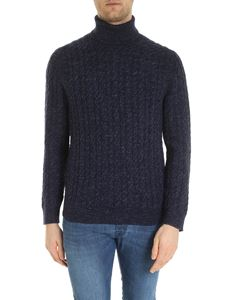 Brooks Brothers - Melange blue turtleneck