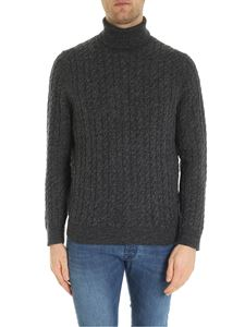 Brooks Brothers - Melange dark grey turtleneck