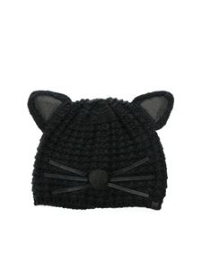 Karl Lagerfeld - Luxury Choupette hat in black
