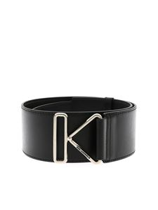 Karl Lagerfeld - Karl Triangle belt in black