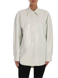 MSGM - Coconut print shirt in white