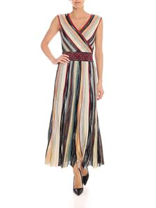 Missoni - Lamè multicolor midi dress