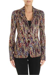 Missoni - Viscose jacquard and wool multicolor jacket