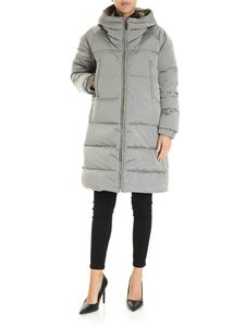 Max Mara - Max Mara The Cube Sportl down jacket in grey