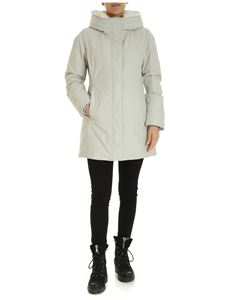 Woolrich - Boulder parka down jacket in ice color