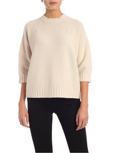 Max Mara - Snack pullover in vanilla color