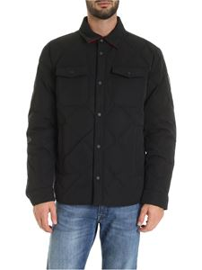 Woolrich - Rowland reversible down jacket in black